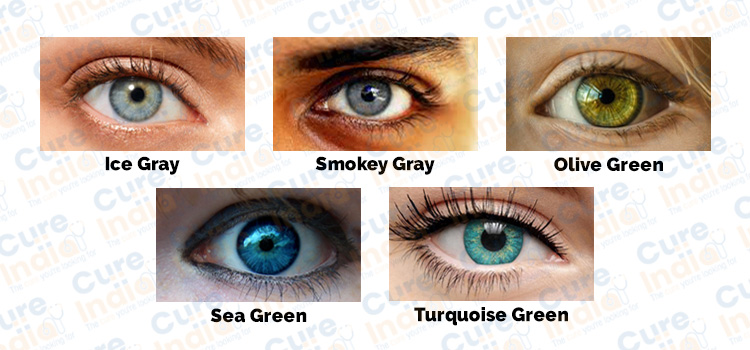 2G Eye Colors