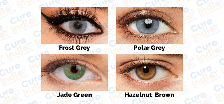 3G Eye Colors