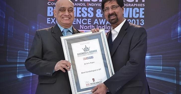 Др K K Kapoor ведущий врач кардиолог и кардиохирург в Индии